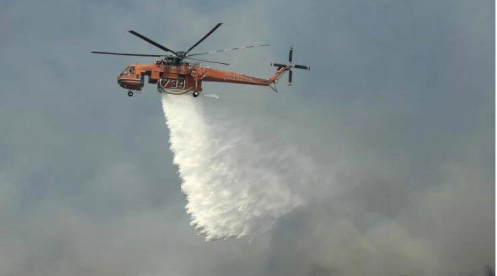 Πάτρα: Φωτιά στην Ζήρια Αχαΐας - Σε ετοιμότητα δύο νοσοκομεία